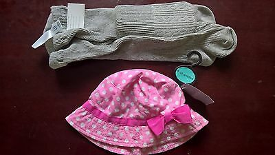 Brand New Pair Of Tights And Hat - Baby Gap - 6 - 12 Months - Girl