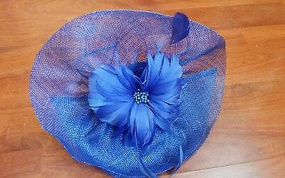 lovely blue fascinator Accessories