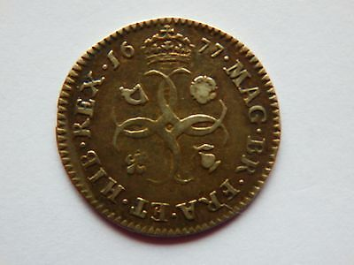 1677 maundy four pence