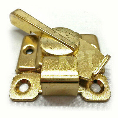 Brass Heavy Duty Furniture Table or Window Sash Lock Strike