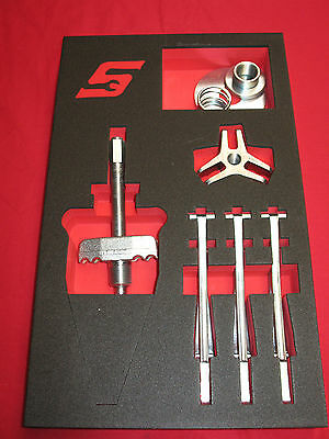 Snap On Tools, 11 Piece Gear Puller Set Brand New