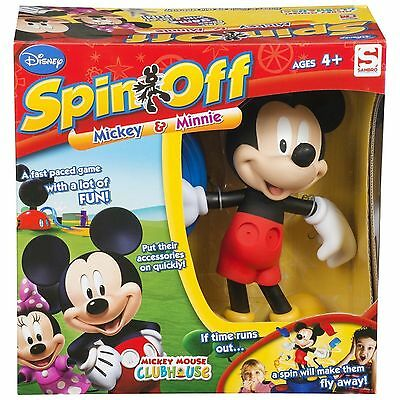 Bnib  Disney  Micky Mouse Clubhouse Spin Off Game Toy From Sambro - New