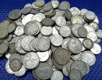 10$ Face CANADA Silver Dime-Quarter .800 fineness *6 oz of PURE Silver Bullion*