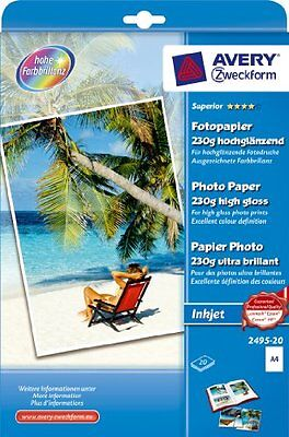 Avery Dennison Zweckform Office Products Europe GmbH Superior 2495-20 Papier pho