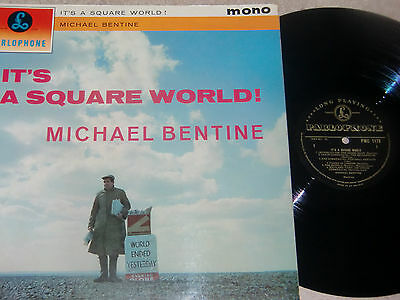 Michael Bentine. It's A Square World. Parlophone (Gold) 1179 (Hard To Find Lp).