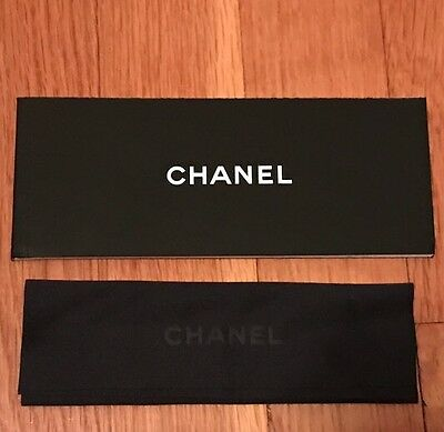 Brand New Chanel sunglasses eyeglasses cleaning cloth and booklet