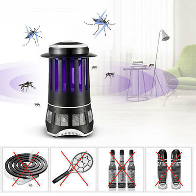 Electric Lighthouse Shape UV Mosquito Insect Control Lamp Killer Light