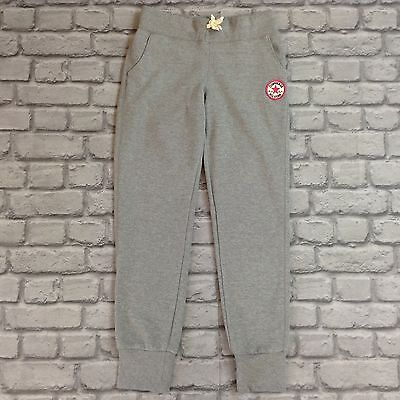 Converse All Star Girls 12-13 Years Grey Sweatpants