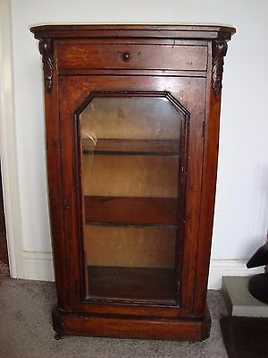 Beautiful Antique Victorian Music Cabinet