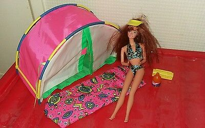 Barbie camping bundle 90's