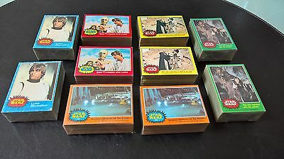 Star Wars 1977 trading cards - huge collection for sale.