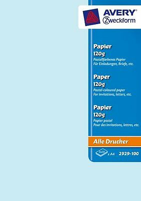 Avery Dennison Zweckform Office Products Europe GmbH 2929-100 Papier pastel A4 5