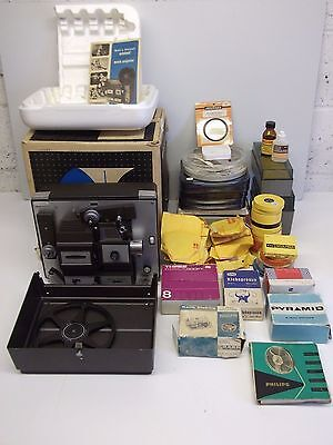 Bell & Howell 8mm Super 8 Autoload Movie Projector Model 456X