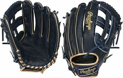 "Rawlings PRO3028-6NGO 12.5"" Heart of The Hide RHT Baseball Glove, NEW"