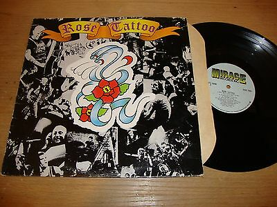 Rose Tattoo - Self Titled - LP Record  G+ VG