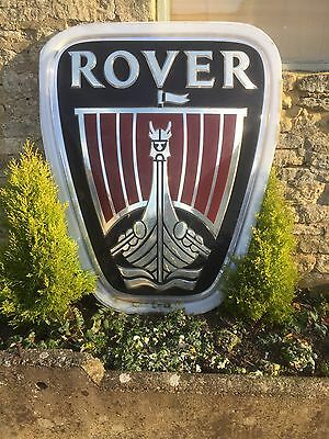Rover Cars Showroom Sign