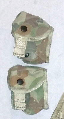 Aussie Grenade Pocket Ozzie Camo Land 125 Molle / Sord Tactical Security Cosplay