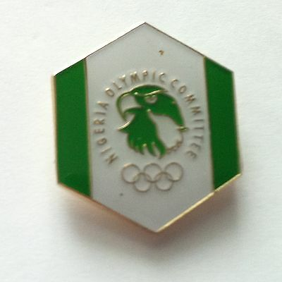 Glasgow 2014 Commonwealth Games - Pin Badge - Official Team Nigeria