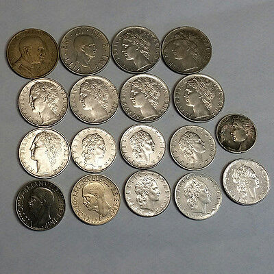 18 COINS FROM ITALY job lot