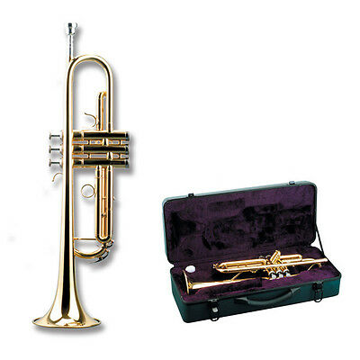 Great Bb Trumpet black case ideal student & orchestral. By Jxgreat low start