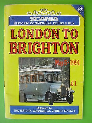 London To Brighton Run ( Historic Commercial Vehicles, 1991.