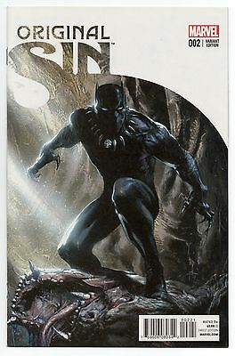 ORIGINAL SIN #2   Gabriele Dell'Otto 1:50 Black Panther Variant   2014   NM