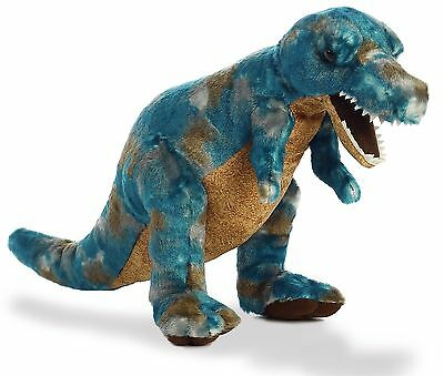 "T-Rex 14"" Plush Soft Toy Dinosaur Brand New With Tags Aurora Great Gift"