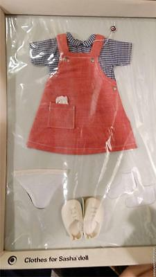 SASHA RED PINAFORE Set 217 in Package Trendon England