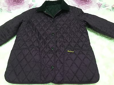 Girl Barbour quilted jacket size xl 12/13
