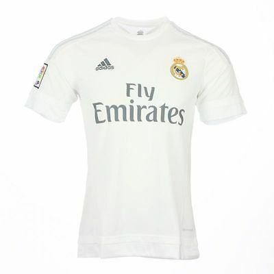 Adidas maillot football Real Madrid exterieur neuf 2015/2016 taille enfant