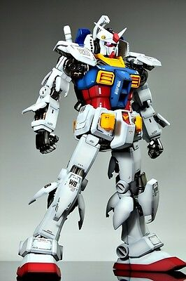 Rx-78 Perfect Grade Bandai Model Kit Gunpla 1A60 Gundam Amuro Peter Rei