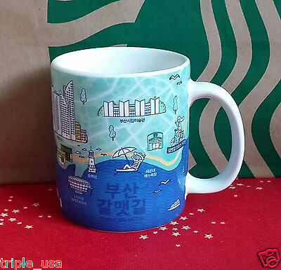 STARBUCKS Korea Busan Galmet-gil Demi Mug City 89ml. Series Collection