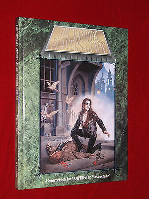 The VAMPIRE PLAYERS GUIDE Sourcebook for Vampire The Masquerade HC TOP, komplett