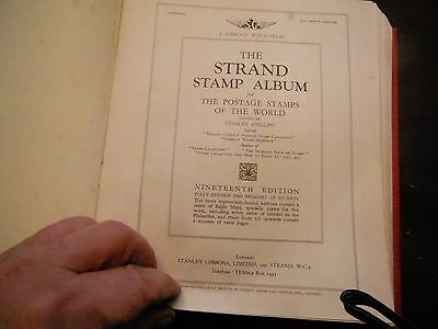 World Stamps Book - The Strand Stamp Album