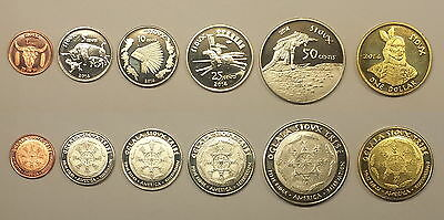 USA Set Sovereign Nation of the Sioux *3008*