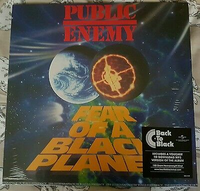 Public Enemy Fear Of A Black Planet Vinyl Lp New & Sealed