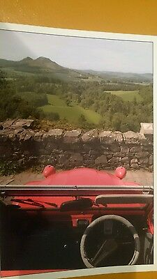 Citreon 2Cv World Meeting 2005 In Kelso Scotland Collectors Postcard