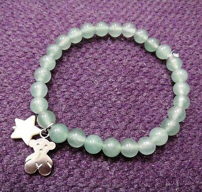 Tous Limited Edition Green Silver Color Bracelet