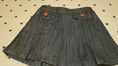Girls Next denim skirt age 5