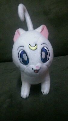 7 inch tall Sailor Moon Artemis Cat Plush Toy - Japanese anime - Exc. Cond,!