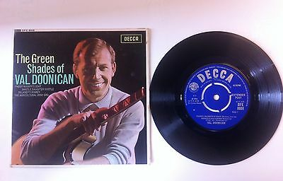 The green shades of Val Doonican.Decca records 7''.