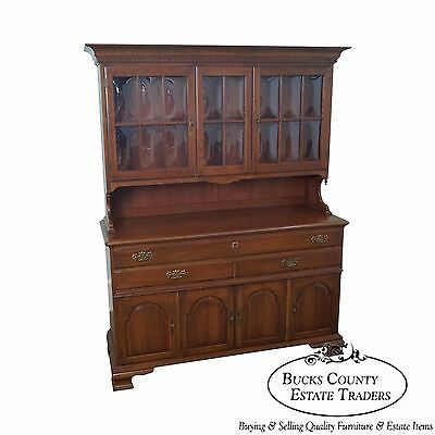 Pennsylvania House Solid Cherry Hutch China Cabinet