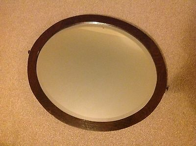 Old Antique Oval Mirror