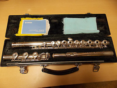 Yamaha Sterling Silver 925 Flute with Case Made in Japan