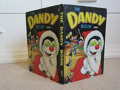 The Dandy Book 1968 -D.c Thomson-Beano-Good Condition-Unclipped