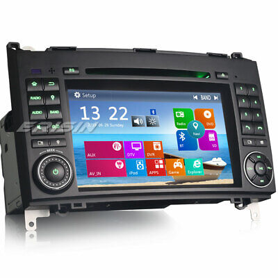 DAB+ GPS Navi Autoradio For Mercedes A B Class W169 W245 Sprinter Crafter Viano