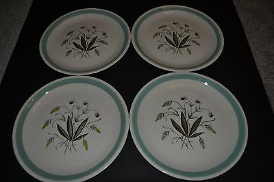 "Vintage Alfred Meakin Hedgerow 9"" Dinner Plates"