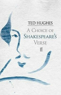 A Choice of Shakespeare's Verse by William Shakespeare Paperback Book