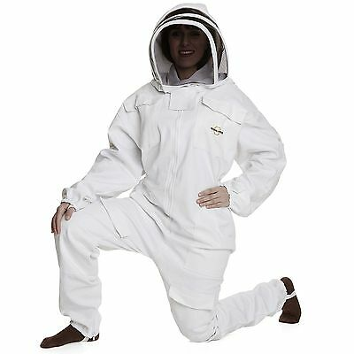 NATURAL APIARY® BEEKEEPING SUIT - WHITE - 2XL - Complete