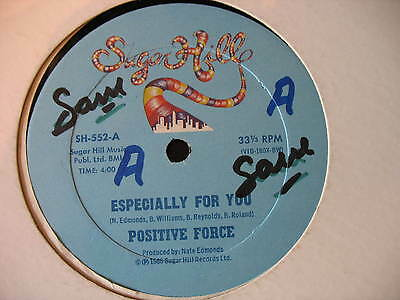 """Positive Force-Especially For You. Uk 12"""" Single. Disco. Funk. Soul.1980.vg"""